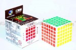 YuXin 6x6x6 Red Unicorn white