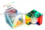 MoYu MoFangJiaoShi Geo Cube B transparent color