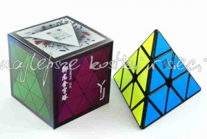 YJ YuLong Magnetic Pyraminx black