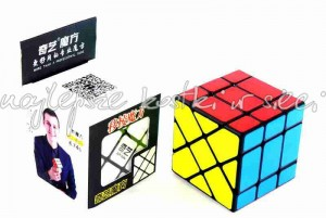 QiYi 3x3x3 Fisher Cube black