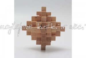 Natural Pineapple  wooden puzzle