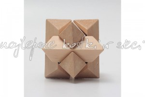 Octagonal Ball wooden puzzle