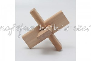 Three Connection wooden puzzle