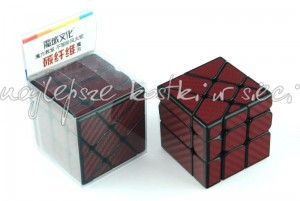 MoYu MoFangJiaoShi Unequal Windmill Cube Carbon Fiber red