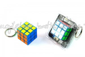 Z-Cube 3x3x3 keyrings luminous blue