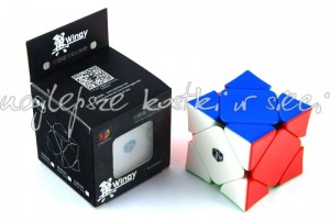 QiYi MoFangGe Magnetic Skewb Wingy color