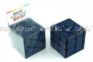 MoYu MoFangJiaoShi Unequal Windmill Carbon Fiber Cube blue