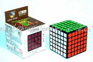 YuXin 6x6x6 Red Unicorn black
