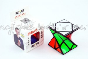 QiYi MoFangGe Twisty Skewb black