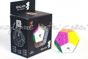 QiYi MoFangGe Megaminx X-Man Galaxy Convex color