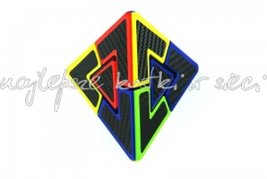 Pyraminx Duo color carbon fibre stickers