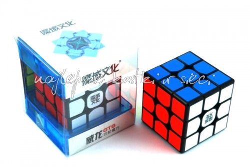 MoYu WeiLong GTS 3x3x3 black