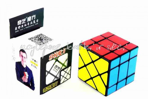 _QiYi 3x3x3 Fisher Cube black_1.jpg